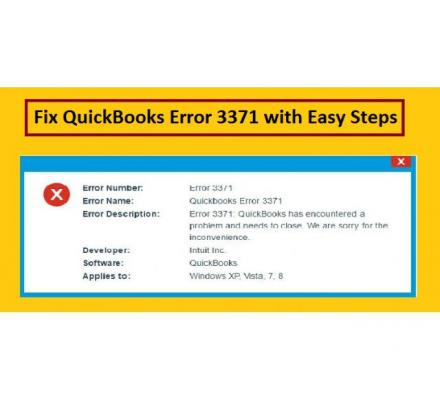 What to do when you see QuickBooks Update Error 3371?