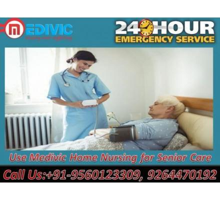 Get Most Reliable and Comfortable Medivic Home Nursing Service in Kolkata