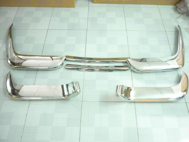 Volvo P 1800 Cow horn bumpers