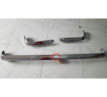 Ford Capri MK1 stainless steel bumpers