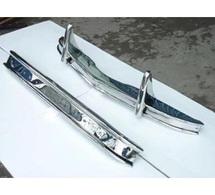 Citroen 2CV stainless steel bumpers