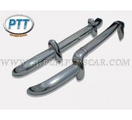 Renault Dauphine stainless steel bumpers