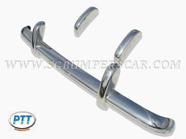 Triumph TR3A stainless steel bumpers