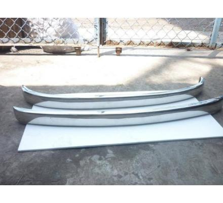 Fiat 500 stainless steel bumpers