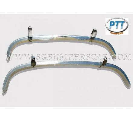 Mercedes Benz 220S SE stainless steel bumpers