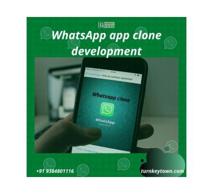 Build Whatsapp clone app for 100% Business Engagement with Turnkeytown