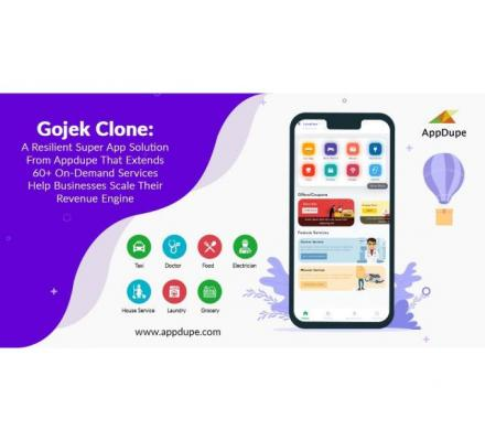 Say hello to your multi-services business by launching the Gojek clone