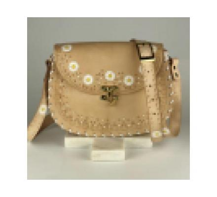 Daisy Chain – Hobo Nude | Leather Crossbody Hobo bags | Tirzart Boutique