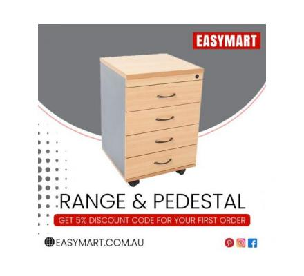 Buy Mobile Pedestals Drawers Online from EasyMart