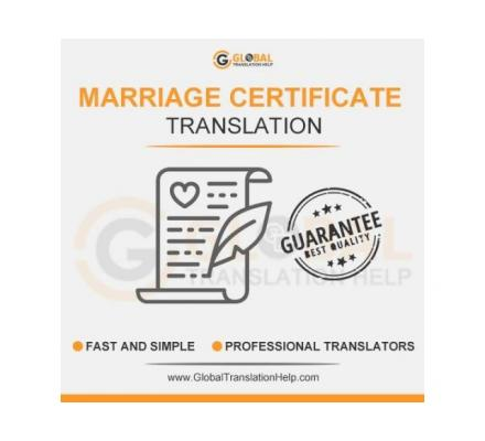 Get Certified Marriage Certificate Translation at Affordable Prices