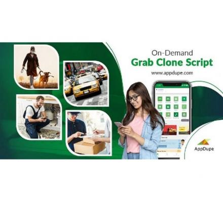 Grab Clone App - A One-stop Solution For All On-demand Services