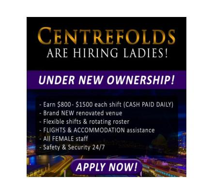 CENTREFOLDS - NEW OWNERS! Earn the biggest $$