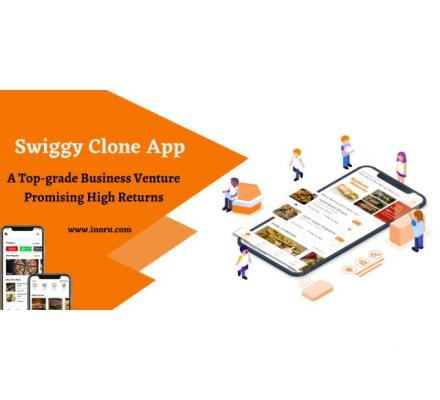 Take your food delivery business to new heights with your Swiggy clone.