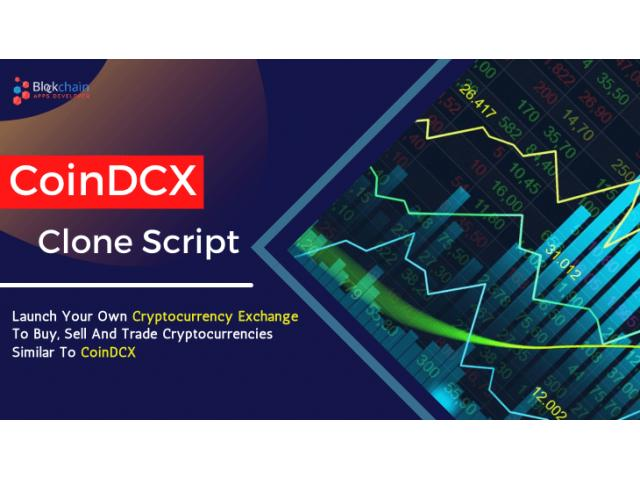 CoinDCX Clone Script To Launch Your Own Cryptocurrency Exchange Similar to CoinDCX