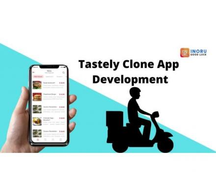 Cater the food delivery service through the Tastely clone app