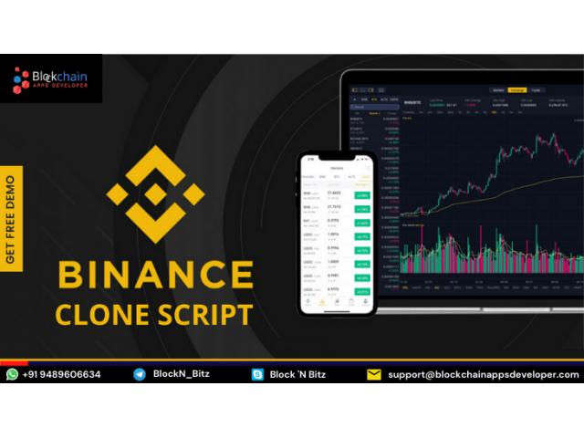 Want To Buy A Ready To Launch Binance Clone Script?