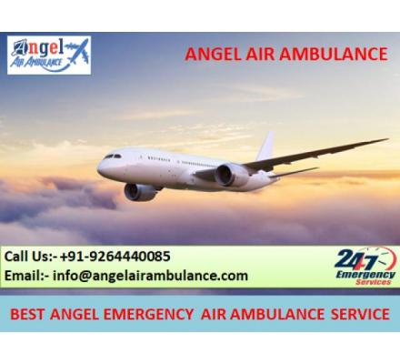 Take Quick Emergency Air Ambulance Service in Ranchi - Angel