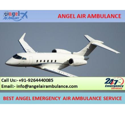 Advanced Life Support Air Ambulance Service in Bhopal by Angel Ambulance