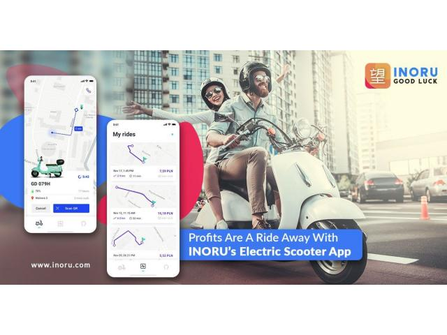 Push your business meet the techy world with E-scooter app development