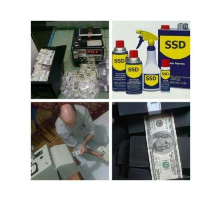 SSD Chemical Solution For Cleaning Defaced Banknotes