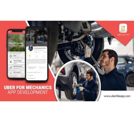 Good time to invest in the on-demand mechanics app development