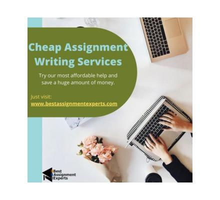 Cheap Assignment Writing Services