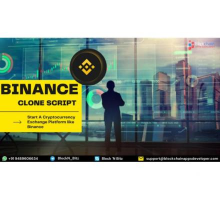 Buy A Binance Clone Script & Launch Your Own Crypto Exchange to Get Huge Profits
