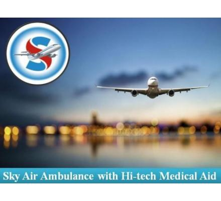 Book Air Ambulance from Patna with Highly Dedicated Medical Team