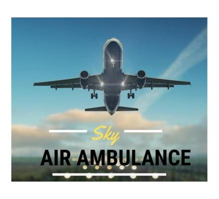 Select Air Ambulance from Guwahati with First-Class Medical Aid
