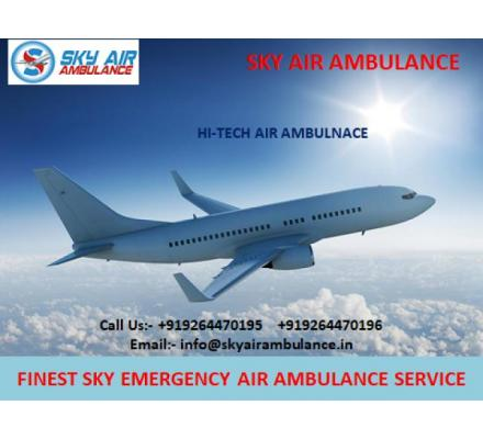 Best Domestic Sky Air Ambulance Service in Visakhapatnam