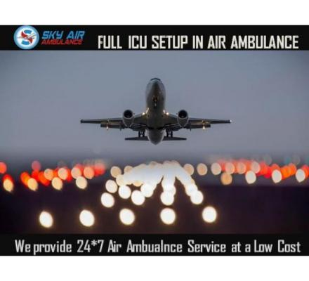 Book Air Ambulance from Dibrugarh with Entire Life-Saving Medical Care