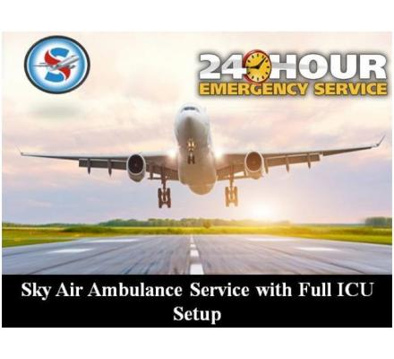 Choose Air Ambulance in Allahabad with World-Class Medical Features