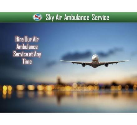 Get Air Ambulance from Jamshedpur with Full Patient Care Service