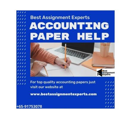 Accounting Paper Help