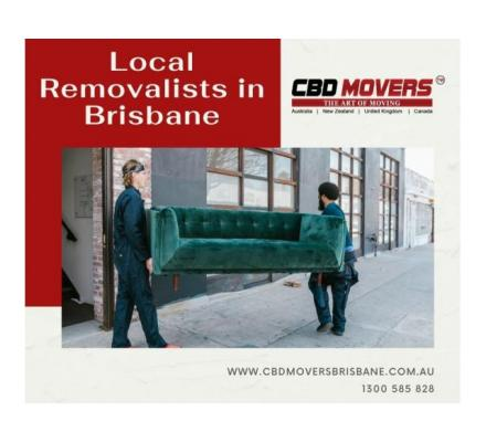 Choose Best And Well Experienced Local Removalists in Brisbane