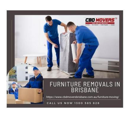Make Your Move Hassel With Best Furniture Removals in Brisbane