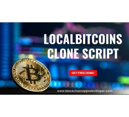 Start your own robust exchanges like Localbitcoins instantly!