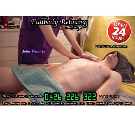 M2M Relaxation Massage ✅ by Male masseur ✅ Point Cook