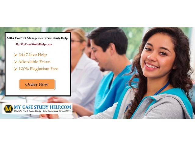 Get MBA Conflict Management Case Study Help From MyCaseStudyHelp.com