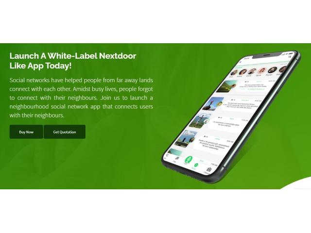 What Are The Efficient Ways To Communicate With Nextdoor Clone Script?