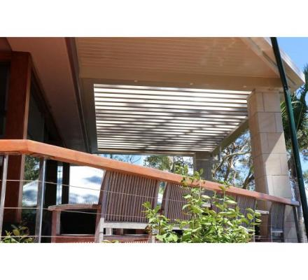Tailor-Made Opening Louver Roof System Available For Your Property