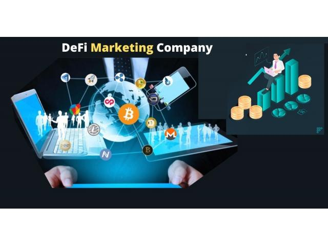 Promote your digital business by gaining support from DeFi Marketing Companies