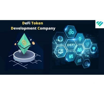 Create Crypto Platforms With A Top Decentralized Finance Token Development Company