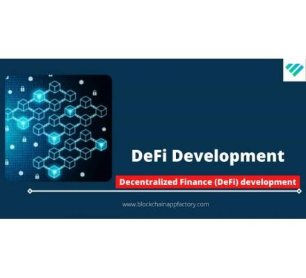 Provide Decentralized Finance Development For Business To Attract Investors