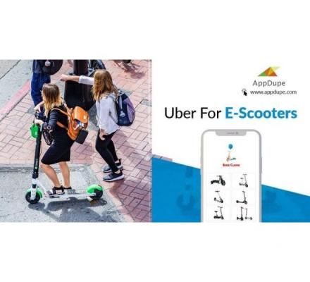 Go Green By Initiating An Uber For E-scooters App For Your Business