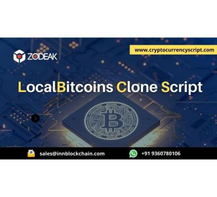 Launch your crypto exchange with our LocalBitcoins clone script