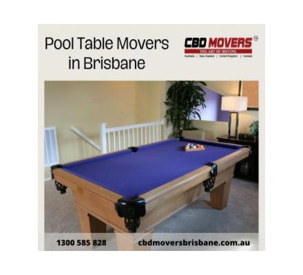 Professional Pool Table Movers in Brisbane