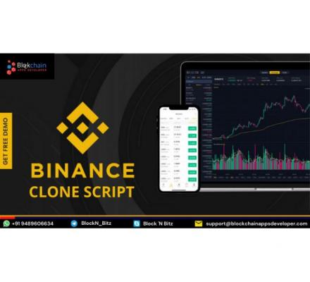 Get your Binance Clone Script with Exclusive Features!