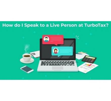 How do I talk to a live person at TurboTax?