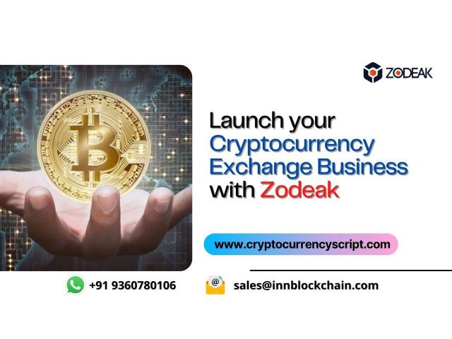 Kick start your Cryptocurrency exchange business with Us!